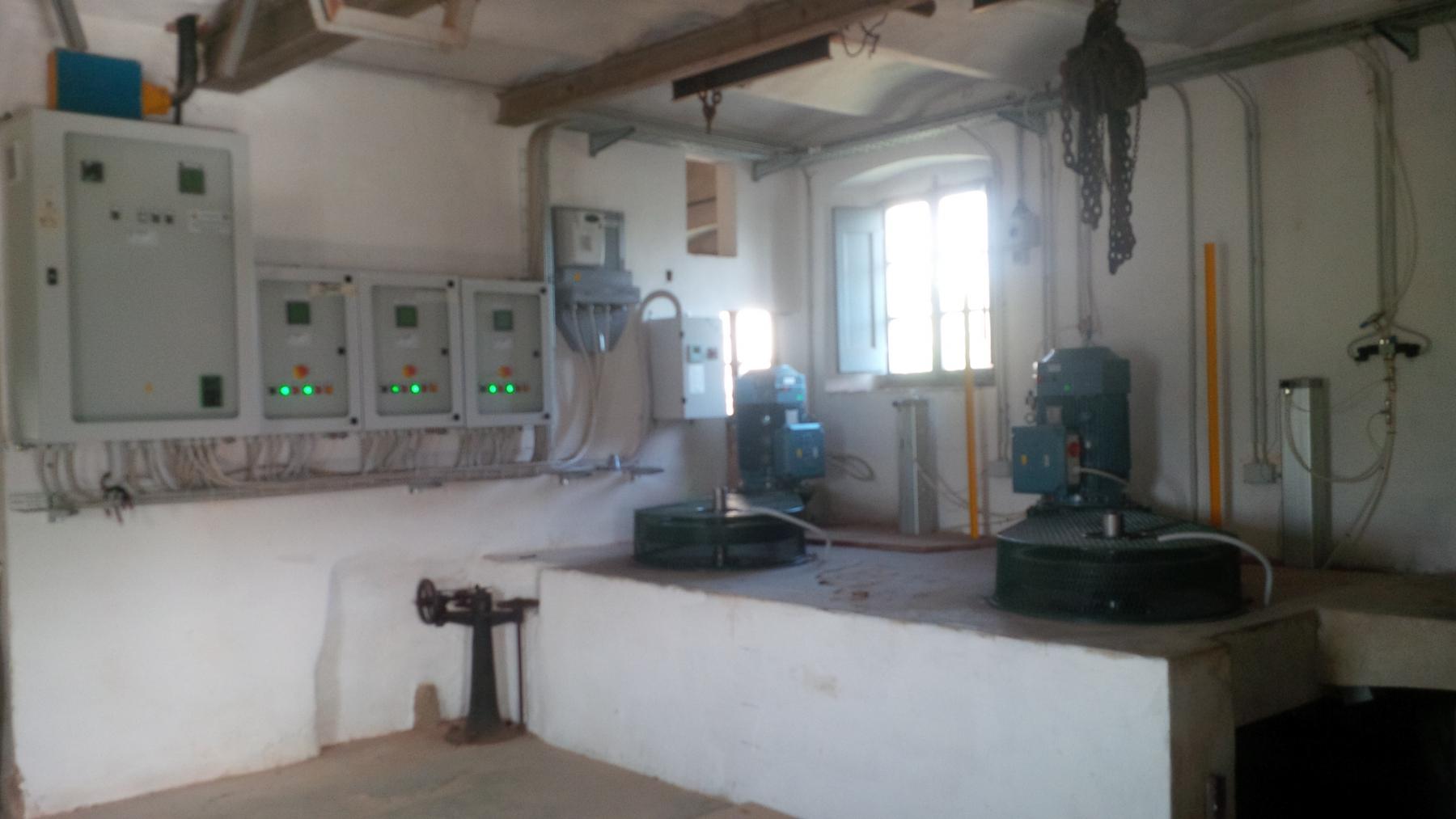 Centrale idroelettrica 45kW sul fiume Elsa